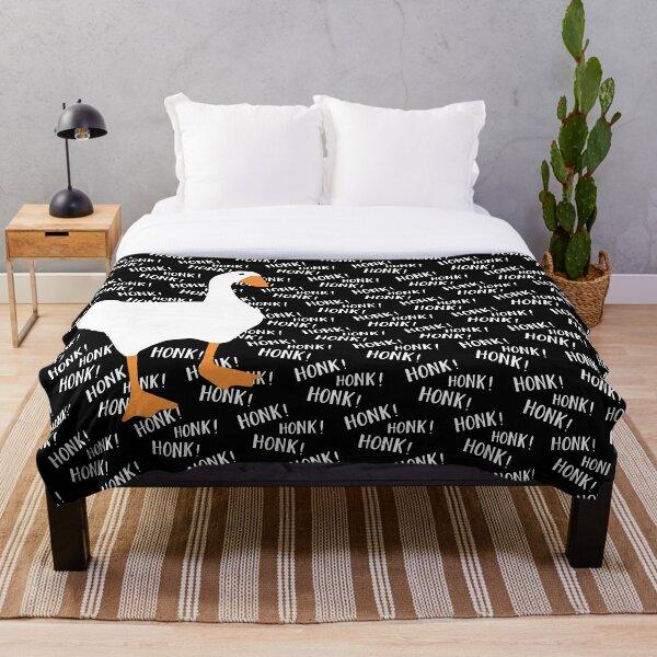 Untitled Goose Honkers  Throw Blanket