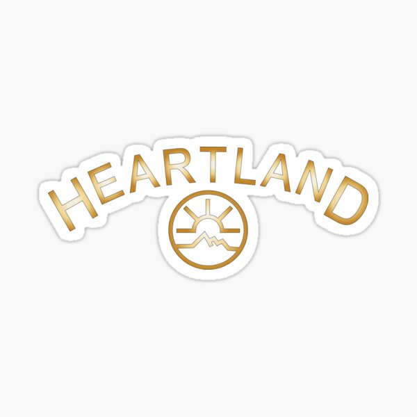 Heartland  Sticker