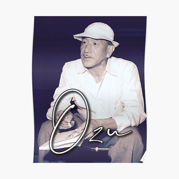 OZU / Japanese Master of Cinema Poster