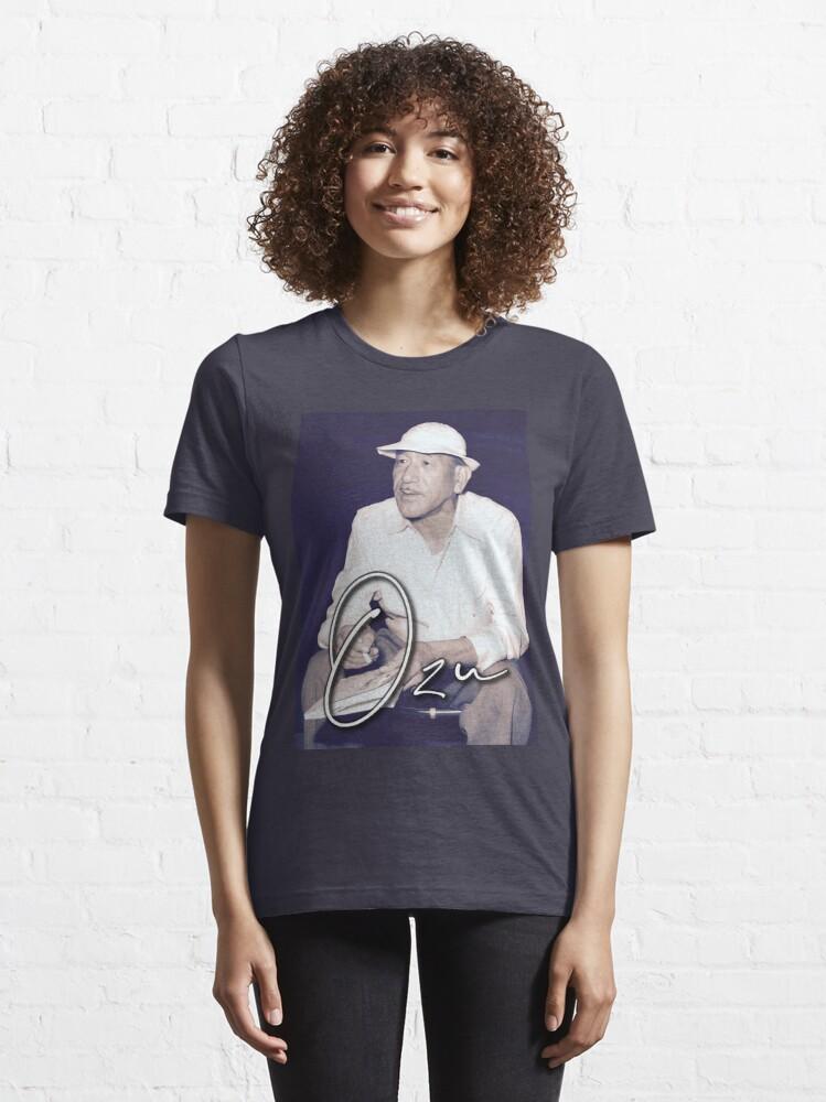 Alternate view of OZU / Japanese Master of Cinema Essential T-Shirt
