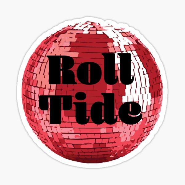 Roll Tide Disco Ball Sticker