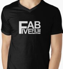 Fab Five Film Logo Men's V-Neck T-Shirt