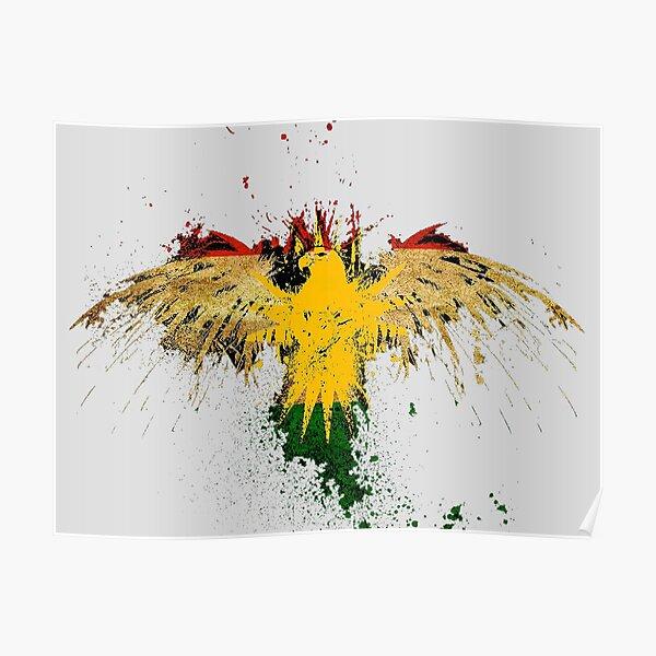 NO Frame size 1 Kurdistan Soldat Flagge Hd Print Malerei Poster Leinwand Malerei Poster 5 St/ück Modural Art Bild Home Decoration