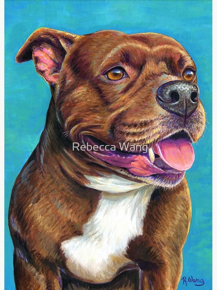 Tallulah the Staffordshire Bull Terrier Dog by lioncrusher