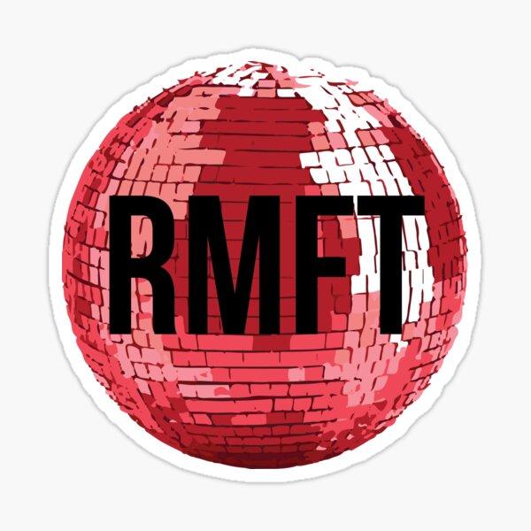 RMFT Disco Ball Sticker