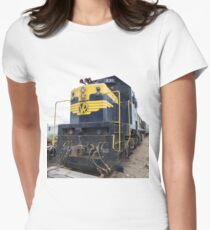 Victorian Railways X31 Womens Fitted T-Shirt