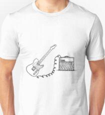 Vox & Telecaster  Unisex T-Shirt