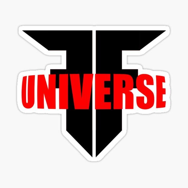 Universe F Logo Sticker