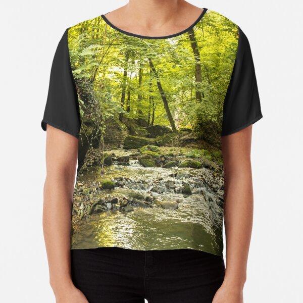 Rivière en forêt Top mousseline