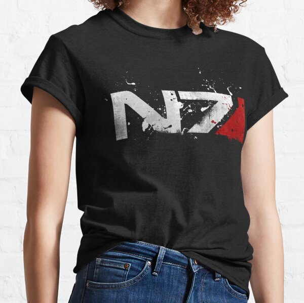 Mass Effect Distressed N7 Classic T-Shirt