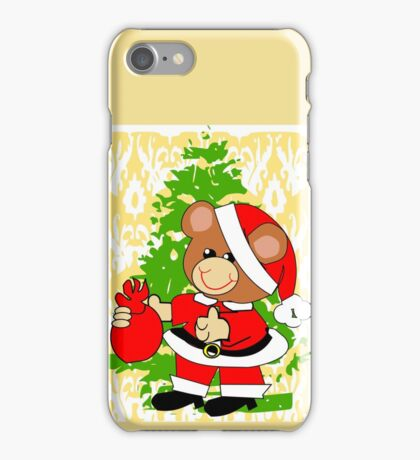 Teddy in Santa's Clothes (7240 Views) iPhone Case/Skin