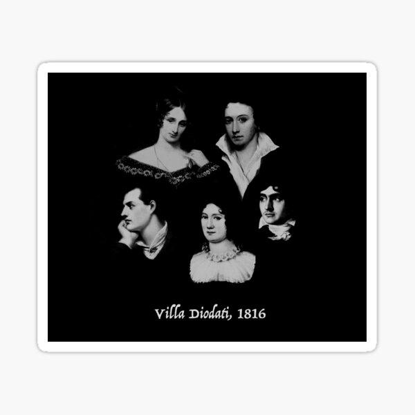 Villa Diodati, 1816 Sticker