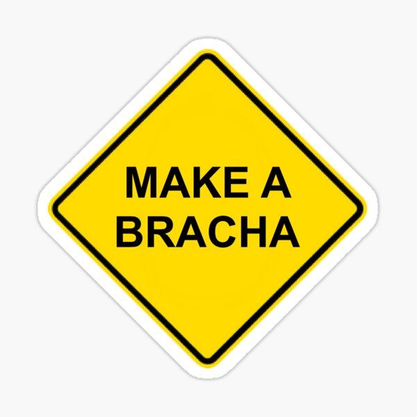 Make a Bracha Sign Sticker