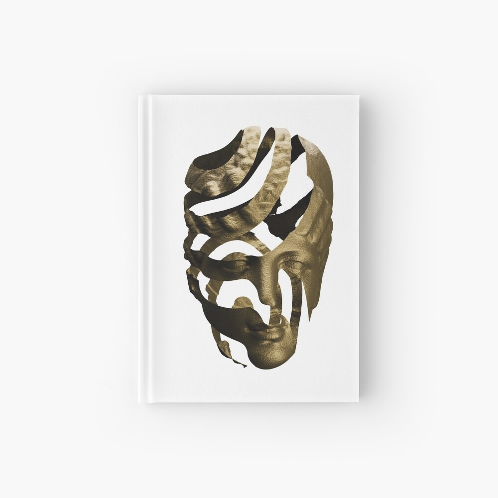 GOLD ZEBRA Hardcover Journal