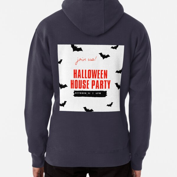 Halloween House Party Pullover Hoodie