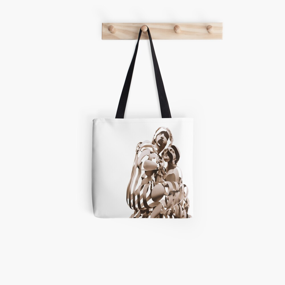 ZEBRA GIRLS Tote Bag