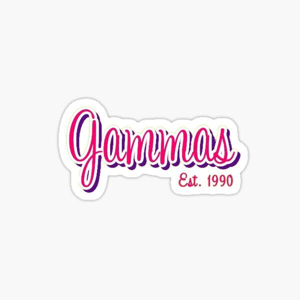 Gammas  Sticker