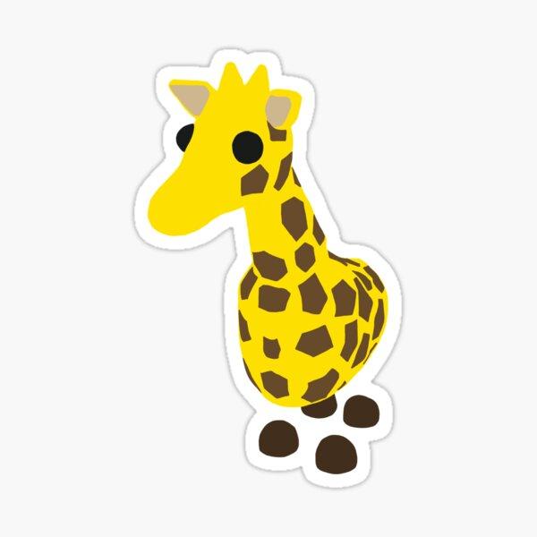 Adopt me giraffe  Sticker