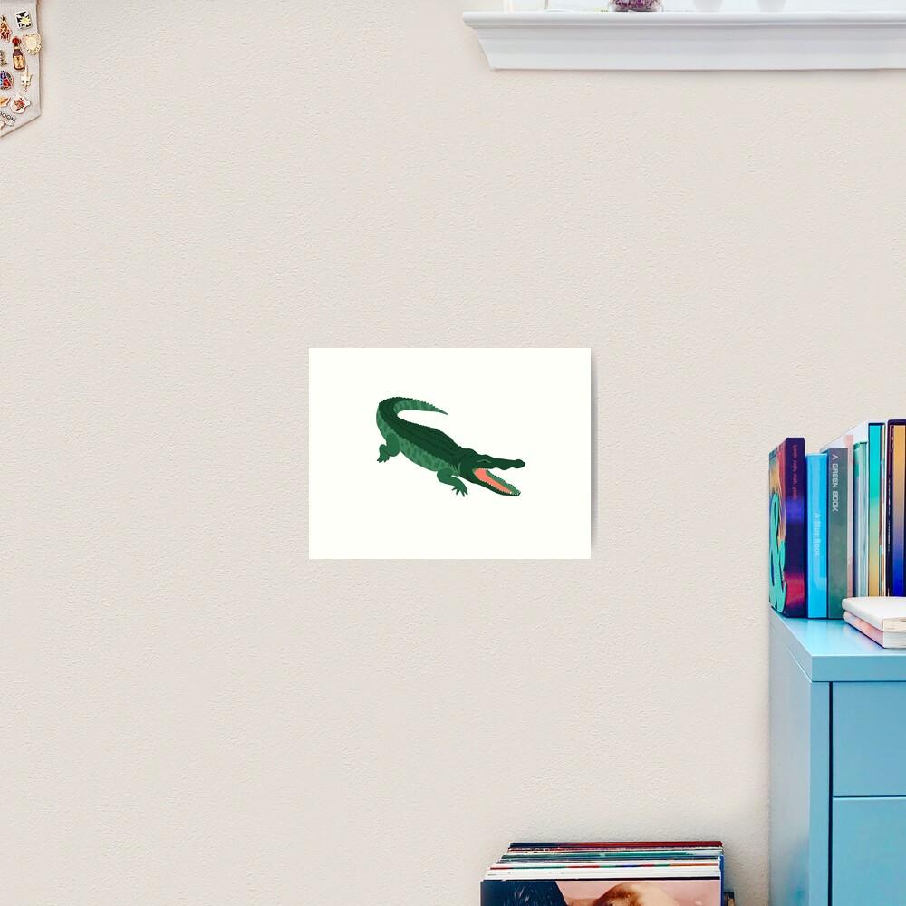 Aligator Art Print