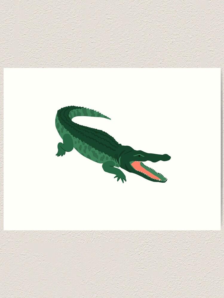 Alternate view of Aligator Art Print