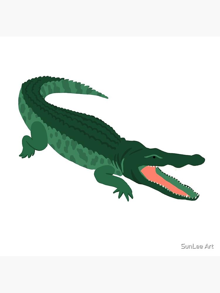 Aligator by sunleeart
