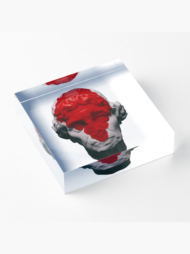 Alternate view of AESTHETIC RED Acrylic Block