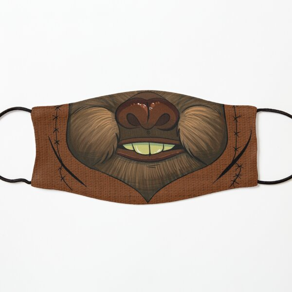 Ewok Space Bear Face Kids Mask