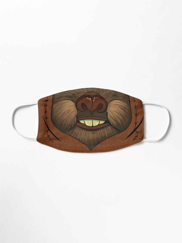 Alternate view of Ewok Space Bear Face Mask