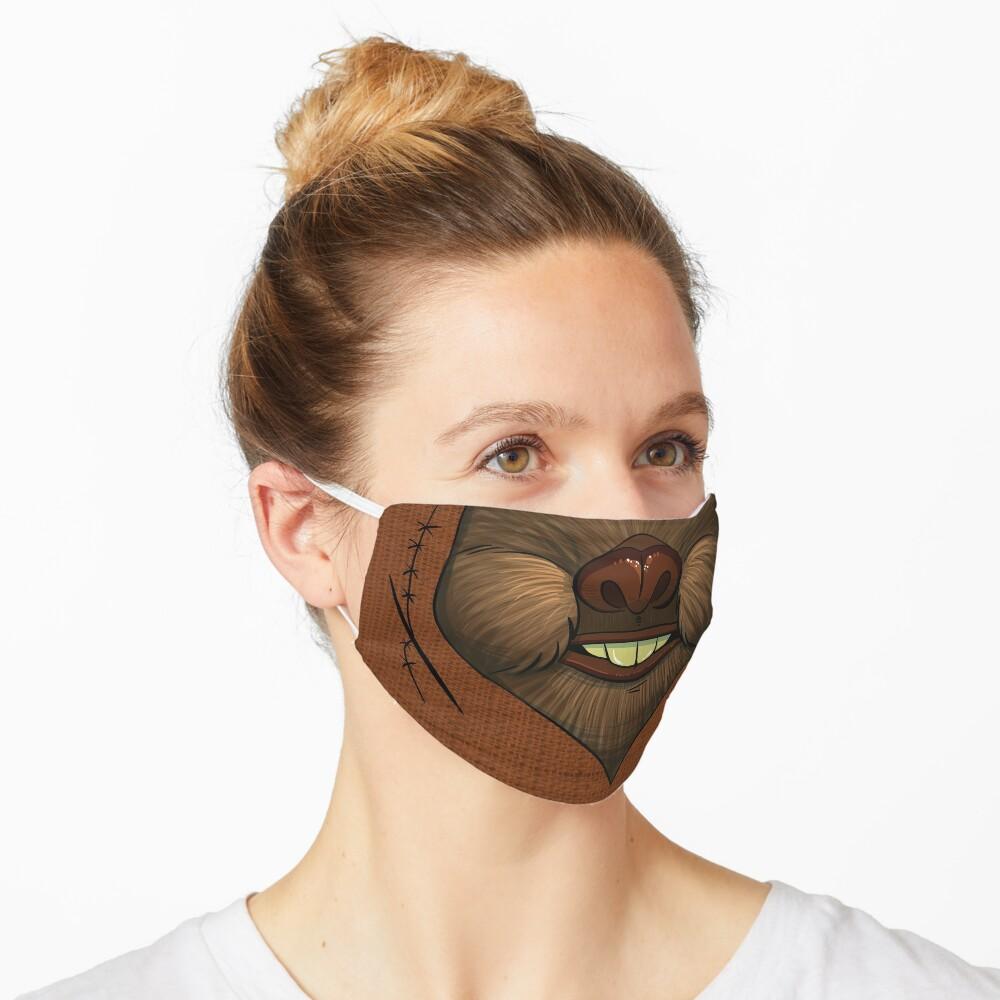 Ewok Space Bear Face Mask