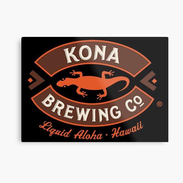 BEST SELLER - Kona Brewing Metal Print