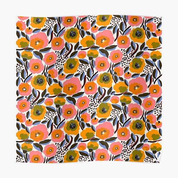 rosarium floral design  Poster