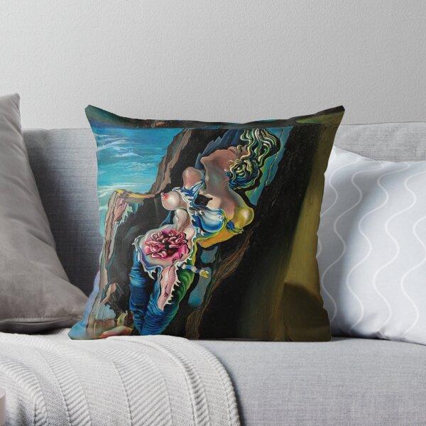 Gradiva by Salvador Dalí Throw Pillow