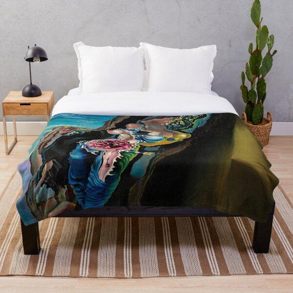 Gradiva by Salvador Dalí Throw Blanket