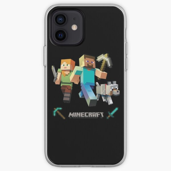 Minecraft Heroes iPhone Soft Case