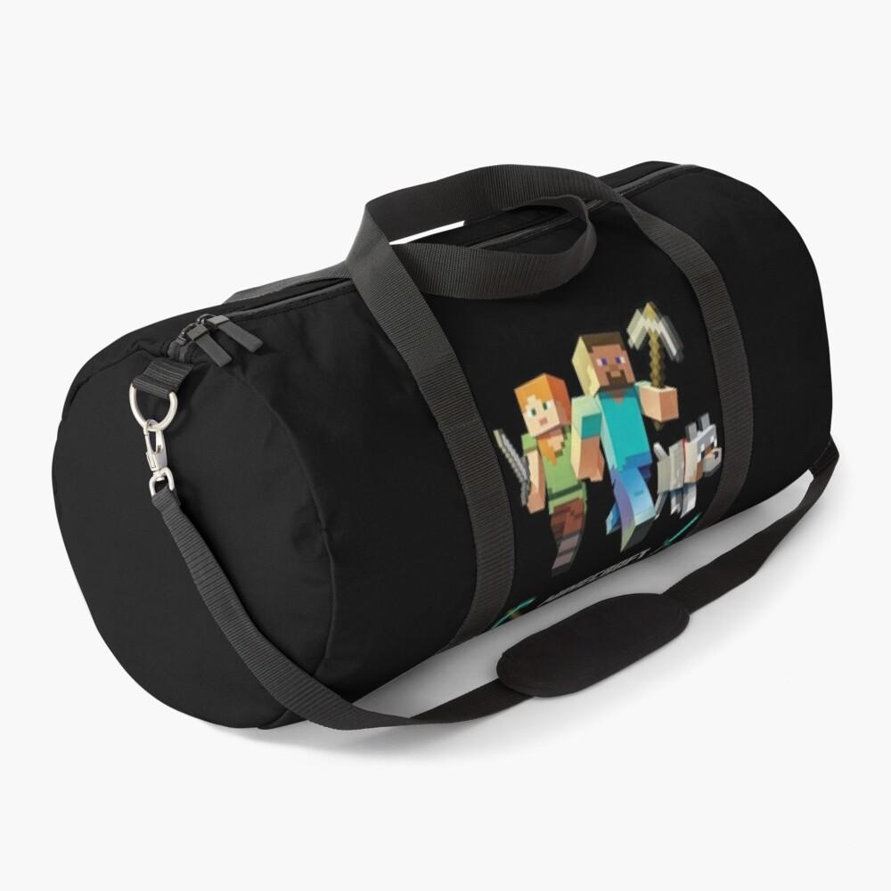 Minecraft Heroes Duffle Bag