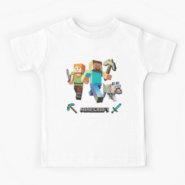 Minecraft Heroes Kids T-Shirt