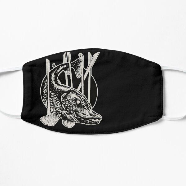"""Inktober illustration """"Fish"""" Flat Mask"""