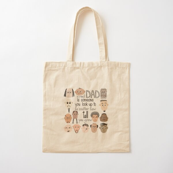 A Real Dad is someone ... Cotton Tote Bag