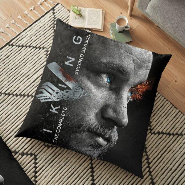 Vikings - Ragnar Lothbro  Floor Pillow