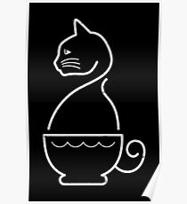 A Cat of Coffee Poster