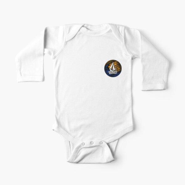 La mejor camiseta de surf de Stone Volcoms Body de manga larga para bebé