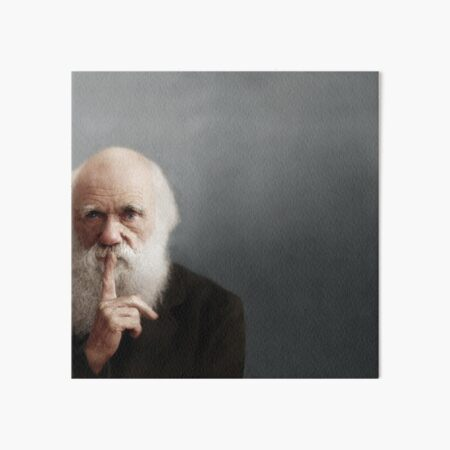 Charles Darwin Art Board Print