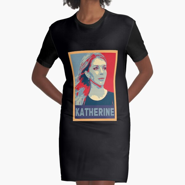 Hope Poster of Katherine Ryan Essential Graphic T-Shirt Dress
