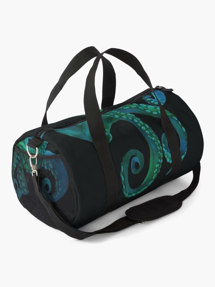 Alternate view of Octopus Sea Animals Arts Duffle Bag