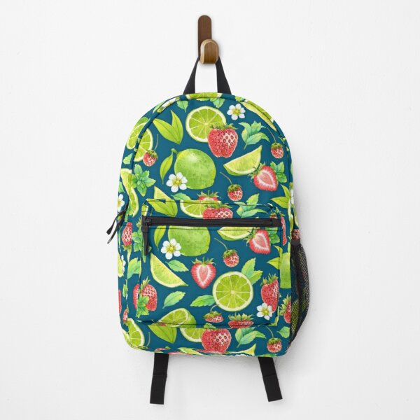 Strawberry and lime Backpack
