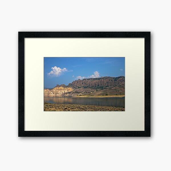 Blue Mesa Reservoir Framed Art Print