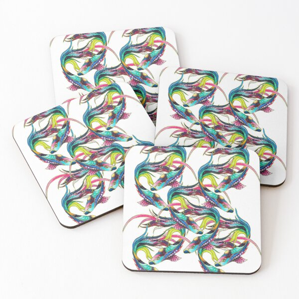 Breathe Coasters (Set of 4)