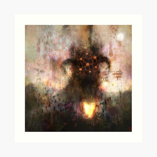 Eorð Sprecan - And The Land Spoke Art Print