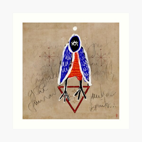 Hámcúþ - Familiar Spirits Art Print