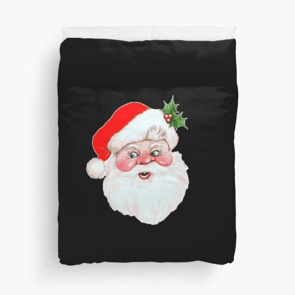 Santa Claus Beard Duvet Cover